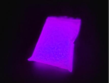 Люминесцентный пигмент Люминофор ТАТ 33 фиолетовый базовый (60 микрон)
