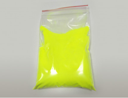Люминесцентный пигмент Люминофор цветной ТАТ 33 желтый (80 микрон) - интернет-магазин tricolor.com.ua