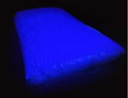 Люминесцентный пигмент Люминофор цветной ТАТ 33 темно-синий (80 микрон)