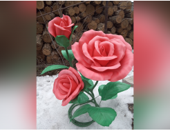 Изолон цветной Isolon 500 3002 розовый 1м