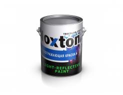 Светоотражающая краска для металла NoxTon красная - интернет-магазин tricolor.com.ua