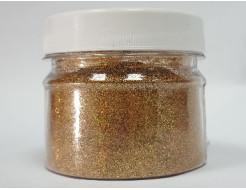Купить Глиттер голографический GG-03/0,2 мм (1/128) бронзовый Tricolor - 1