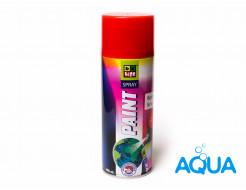Краска аэрозольная на водной основе BeLife Spray Aqua премиум (красная)