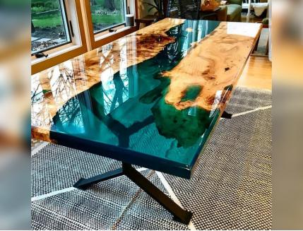 Эпоксидная прозрачная смола Crystal 3D Mass для объемных заливок - изображение 2 - интернет-магазин tricolor.com.ua
