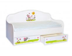 Кроватка диванчик Совенок 80х160 ДСП