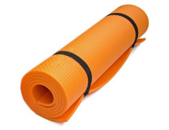 Коврик-каремат Izolon Fitness оранжевый - интернет-магазин tricolor.com.ua