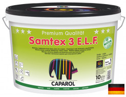 Краска интерьерная латексная Caparol Samtex 3 E.L.F. B1 белая Германия