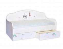 Кроватка диванчик Гламур 80х160 ДСП