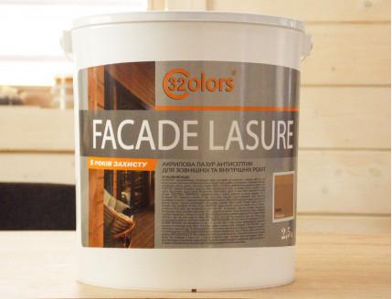 Лазурь для дерева фасадная 32 Color Bionic House антисептик Изумруд - изображение 3 - интернет-магазин tricolor.com.ua