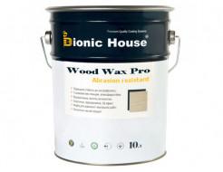 Краска-воск для дерева Wood Wax Pro Bionic House алкидно-акриловая Пепел
