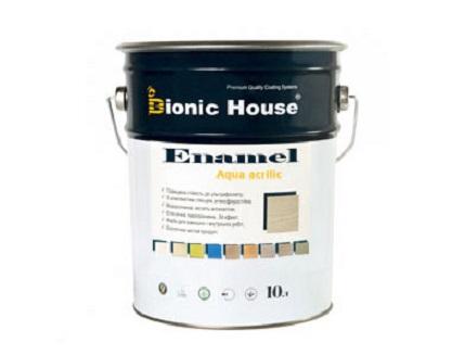 Эмаль для дерева Aqua Enamel Bionic House акриловая Зефир - интернет-магазин tricolor.com.ua