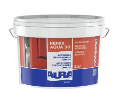 Эмаль акриловая полуматовая Aura Luxpro Remix Aqua 30