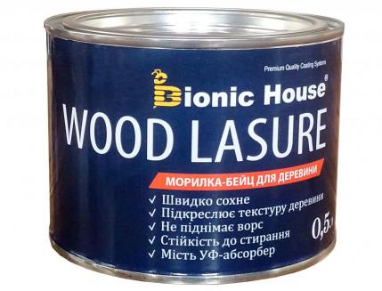 Морилка-бейц для дерева Wood Lasure Bionic House антисептическая Белая - изображение 2 - интернет-магазин tricolor.com.ua