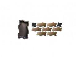 Форма для тротуарной плитки «Волна гладкая» 23,7x10,3x4 AX