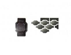 Форма для тротуарной плитки «Маг шагрень» 22,5x13,6x6 Александра