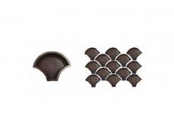 Форма для тротуарной плитки «Чешуя» 24x18,5x4,5 AX