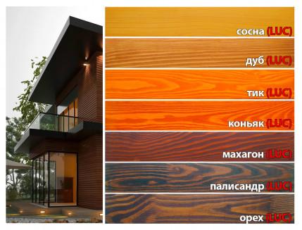 Лазурь для дерева фасадная 32 Color Bionic House антисептик Палисандр LUC - изображение 3 - интернет-магазин tricolor.com.ua