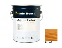 Акриловая лазурь Aqua color – UV protect Bionic House Дуб LUC