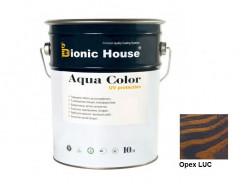 Акриловая лазурь Aqua color – UV protect Bionic House Орех LUC - интернет-магазин tricolor.com.ua