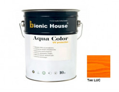 Акриловая лазурь Aqua color – UV protect Bionic House Тик LUC - интернет-магазин tricolor.com.ua