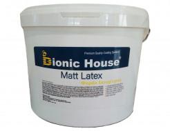 Краска интерьерная водно-дисперсионная Bionic House Matt Latex для стен и потолка с антисептиком - интернет-магазин tricolor.com.ua
