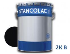 Краска по металлу эпоксидная каменноугольная Stancolac 960 Coal tar черная 2К В