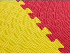 Татами мягкий пол Izolon EVA Kids ЭВА Кидс желтый 50*50*1 - интернет-магазин tricolor.com.ua