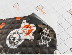 Вибропоглощающий материал для авто Шумофф Joker Black 0,37*0,27м - интернет-магазин tricolor.com.ua