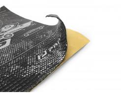 Вибропоглощающий материал для авто Practik 1,6 самоклейка 0,47*0,75м - интернет-магазин tricolor.com.ua