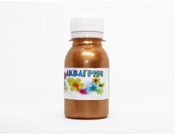 Аквагрим металлик гипоаллергенный Tricolor - 25 темное золото (металлик) - интернет-магазин tricolor.com.ua