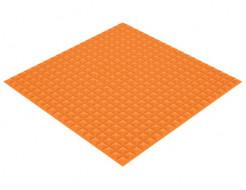 Акустическая панель Пирамида 25 мм 1х1 м средняя оранжевая