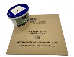 Магнитные плитки Milacor + клей