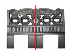Форма оградки №1а АБС MF 85х60х4 см