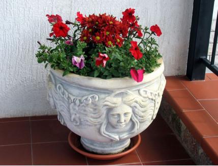 Форма вазы Горгона стеклопластик MF H-44 D-51/24