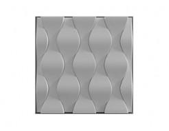 Форма 3Д панель №14 50х50 см (АБС) БудФорма