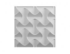 Форма 3Д панель №15 50х50 см (АБС) БудФорма
