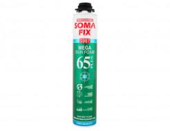 Профессиональная монтажная пена Soma Fix Mega 65 Plus зима 850 мл