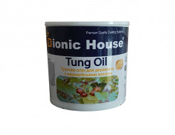 Масло тунговое с карнаубским воском Hard Tung oil Bionic House