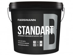 Штукатурка декоративная силикон-модифицированная Farbmann Standart B Барашек база LC