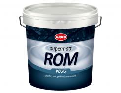 Краска латексная акриловая Gjoco Supermatt Rom 01 матовая база C прозрачная
