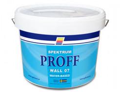 Краска водная Spektrum Proff 07 PVA полуматовая база А белая