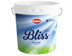 Краска водная Gjoco Bliss 10 полуматовая база B полупрозрачная
