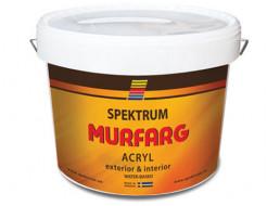 Краска фасадная акриловая Spektrum Murfarg матовая база А белая