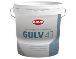 Краска уретан-алкидная Gjoco Gulv 40 для полов полуглянцевая база C прозрачная