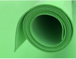 Фоамиран 03 зеленый 1,5х1 м