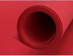 Фоамиран 02 ярко-красный 1,5х1 м