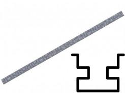 Форма столба распашная №20 с пазами (АБС) БудФорма