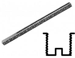 Форма столба распашная №21 с пазами двусторонняя (АБС) БудФорма