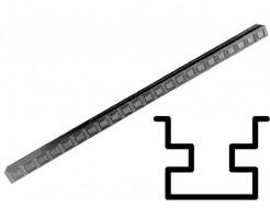 Форма столба распашная №28 с пазами (АБС) БудФорма