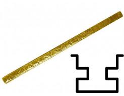 Форма столба распашная №24 с пазами (АБС) БудФорма